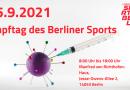 Einladung zum Impftag beim LSB Berlin am 15. September 2021